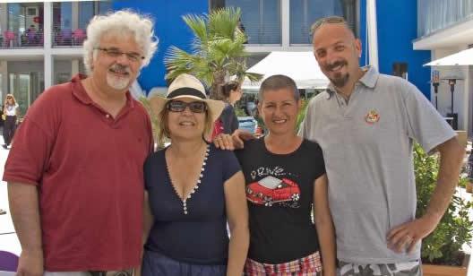 insieme a Patrizio e Susy, turistipercaso