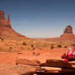 Charlie nella Monument Valley