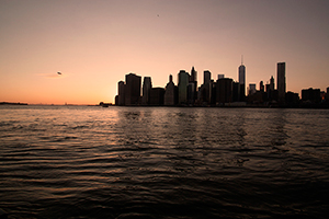 sunset Manhattan