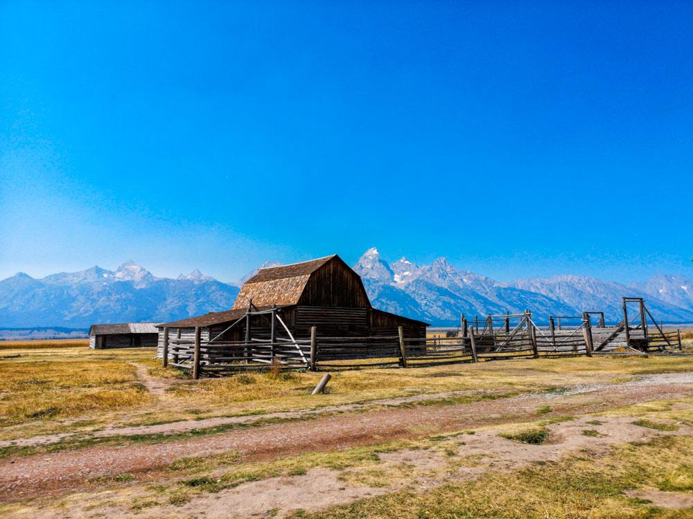Grand Teton NP USA